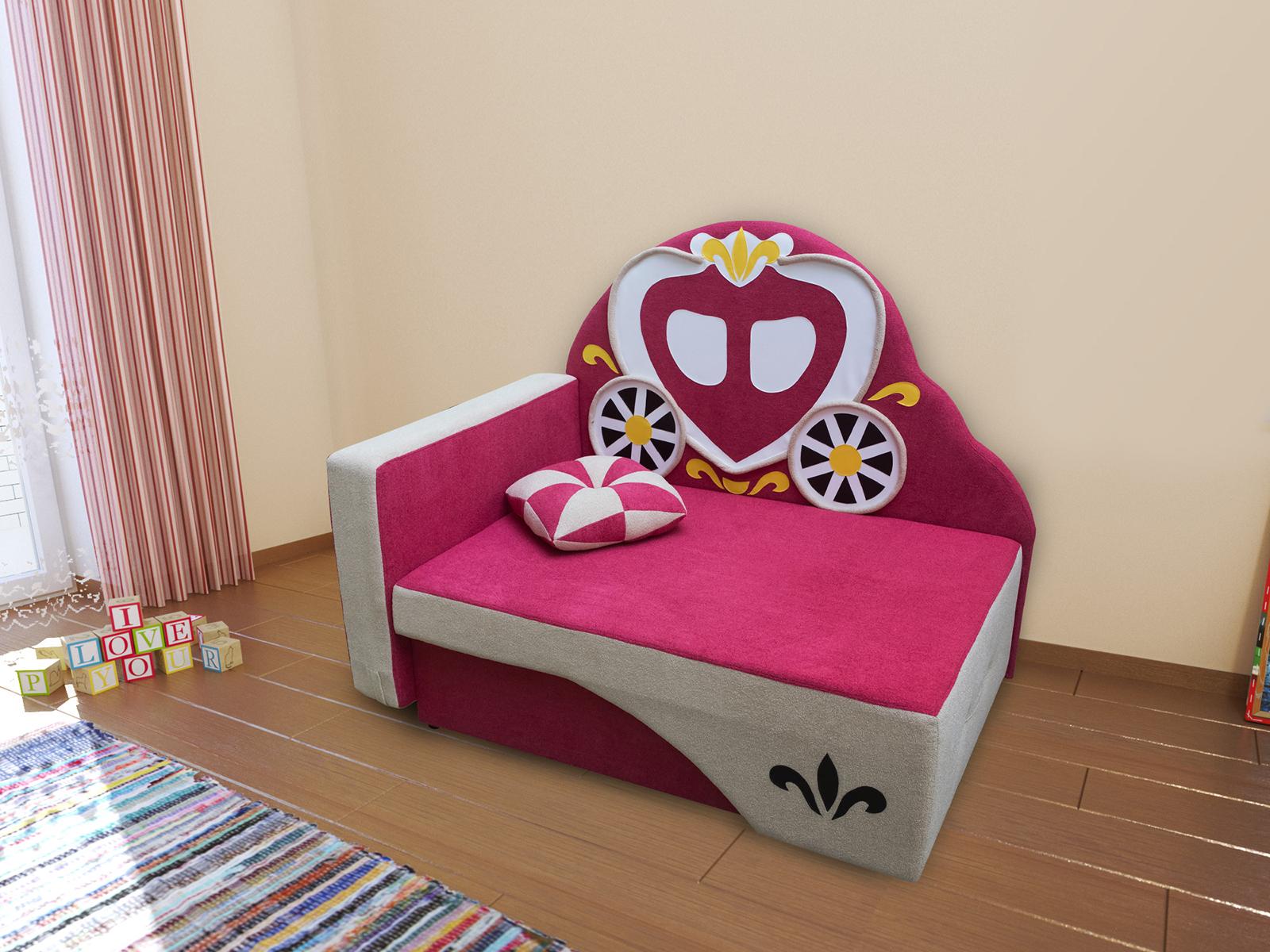 Фея диван детский левый дешево в Новосибирске — интернет-магазин мебели
